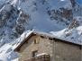 Le refuge de la Balme et ses alentours en hiver